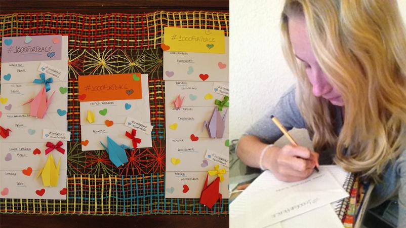 Alagoana cria projeto para levar mil mensagens positivas para o mundo inteiro 4