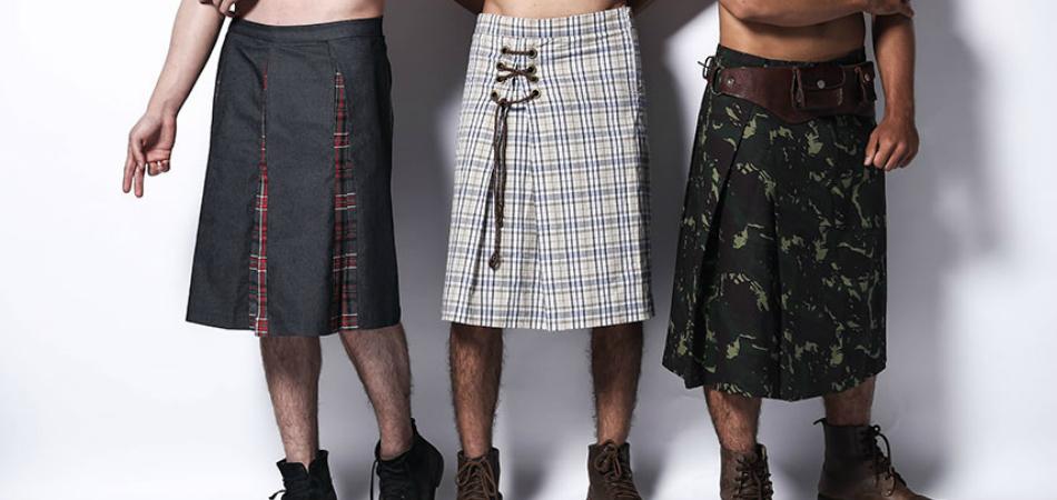 Em Campo Grande, estilista cria coleção de saias masculinas maravilhosas 3