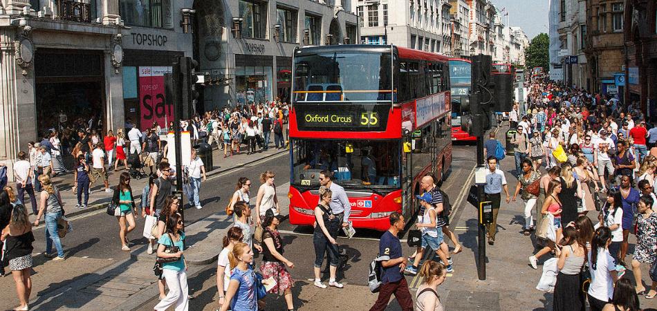 Até 2020, Londres vai banir os carros de sua principal rua 1