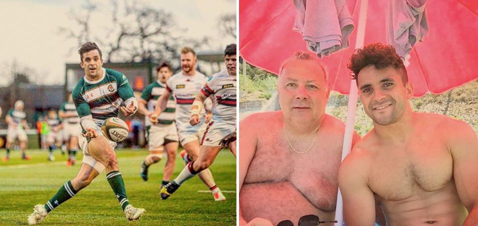 Jogador de rugby sai do armário e quebra padrões de casais gays 1