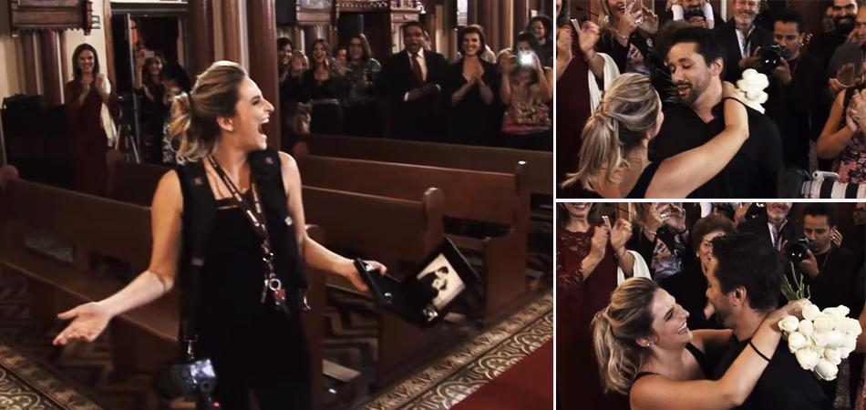 Fotógrafa é pedida em casamento durante cerimônia falsa planejada pelo namorado 2