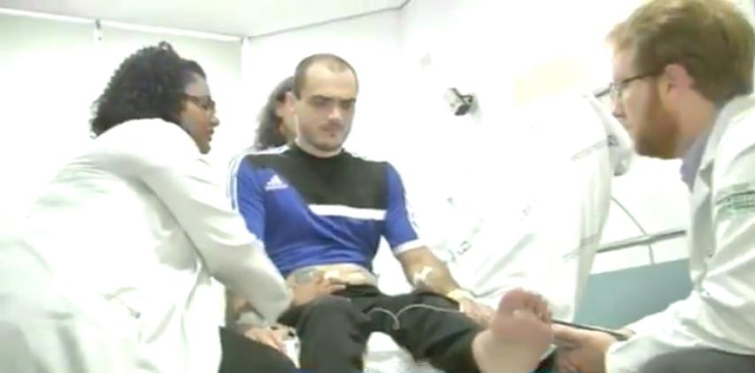 Ele é o primeiro tetraplégico do Brasil que voltará a andar após tratamento inovador 2