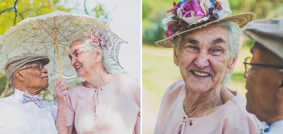 Casal que viveu amor proibido faz ensaio para celebrar 60 anos de casados 1