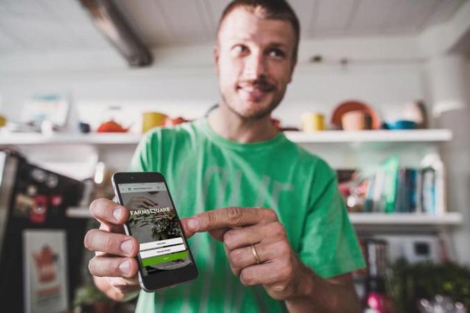 Ator Rodrigo Hilbert lança aplicativo que aproxima agricultores urbanos de consumidores 1