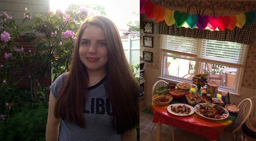 Ela ganhou uma festa surpresa dos pais após contar que era homossexual 2