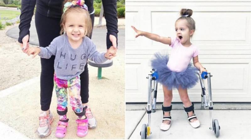 Campanha para ajudar menina com paralisia cerebral voltar a dançar bomba na internet 1