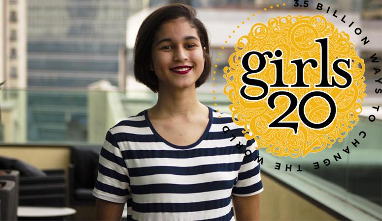 Estudante de SP será a delegada do Brasil em encontro global de lideranças femininas 2