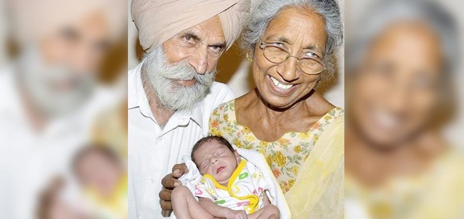 Indiana dá à luz ao primeiro filho aos 72 anos 1