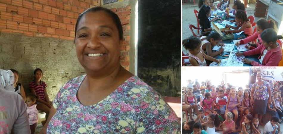Mãe que perdeu os filhos para as drogas ajuda outras crianças a terem caminhos diferentes 1