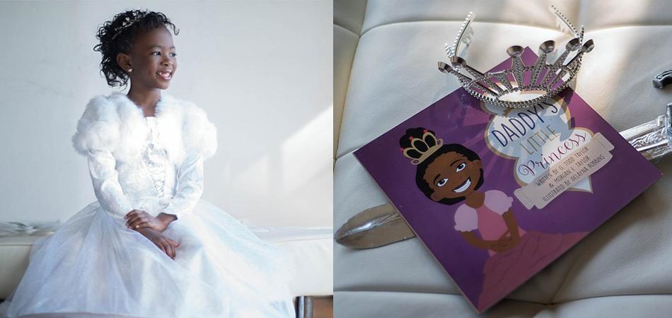 Menina de 7 sete anos escreve livro para mostrar que meninas negras podem SIM ser princesas 1