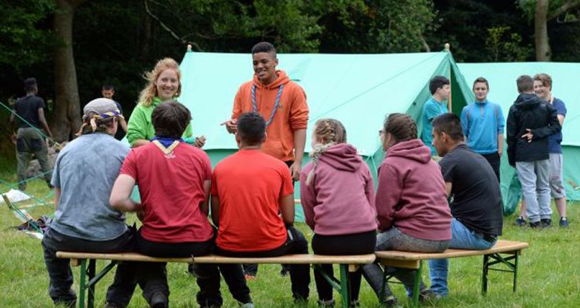Escoteiros ajudam na adaptação de jovens refugiados na Irlanda 2