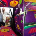 Taxista ganha carro personalizado como agradecimento por ajudar pessoas em emergências 2