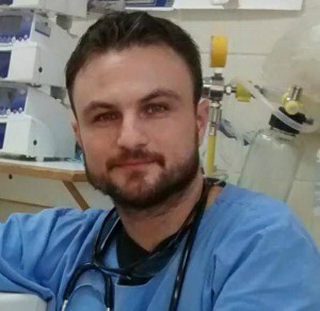 O enfermeiro Eduardo Campos