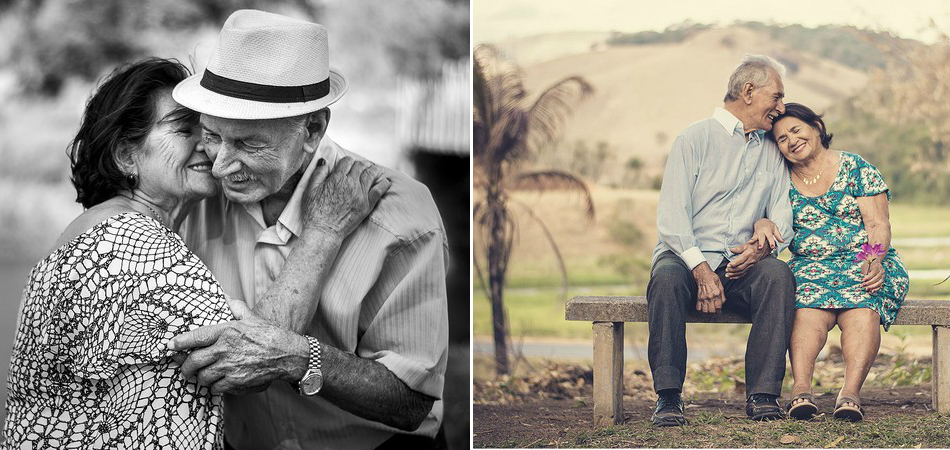 Ensaio fotográfico de casal prestes a completar 60 anos casados é todo amor que seu dia precisa 2