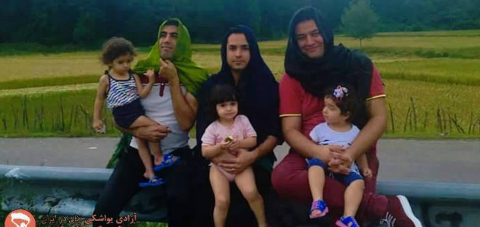 Homens no Irã vestem Hijabs em apoio aos direitos das mulheres 4