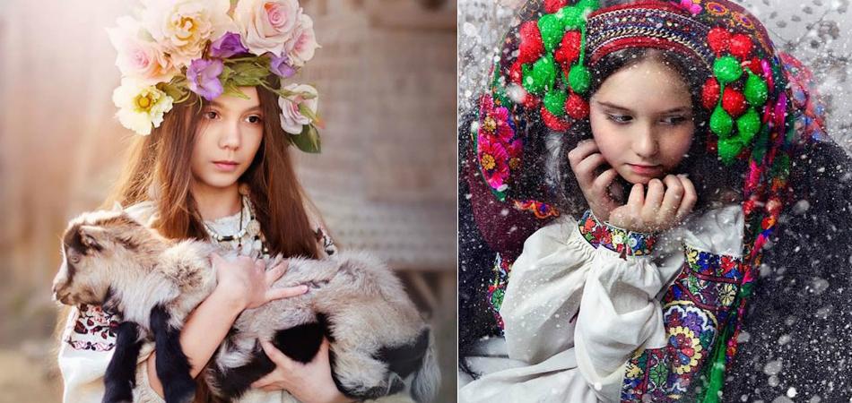 Série de fotos retrata as incríveis e tradicionais coroas de flores na Ucrânia 1