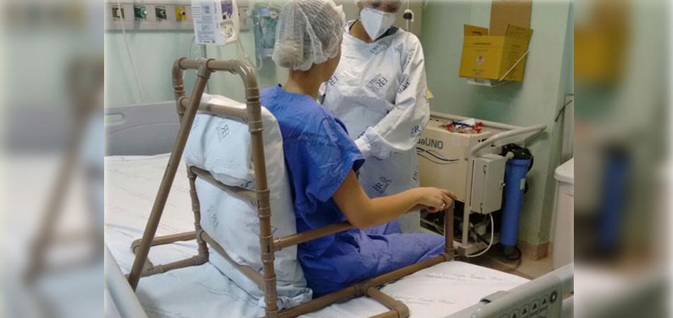 Cadeira feita com PVC ajuda fisioterapia e melhora evolução de pacientes 7