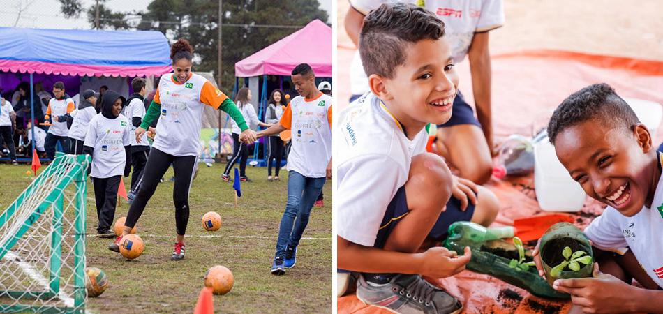 Programa social incentiva crianças a jovens a praticar atividade física e alimentação mais saudável 1