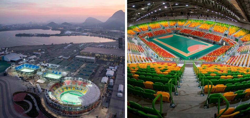 Estas obras Olímpicas foram desenhadas para tornarem-se escolas após os Jogos 1