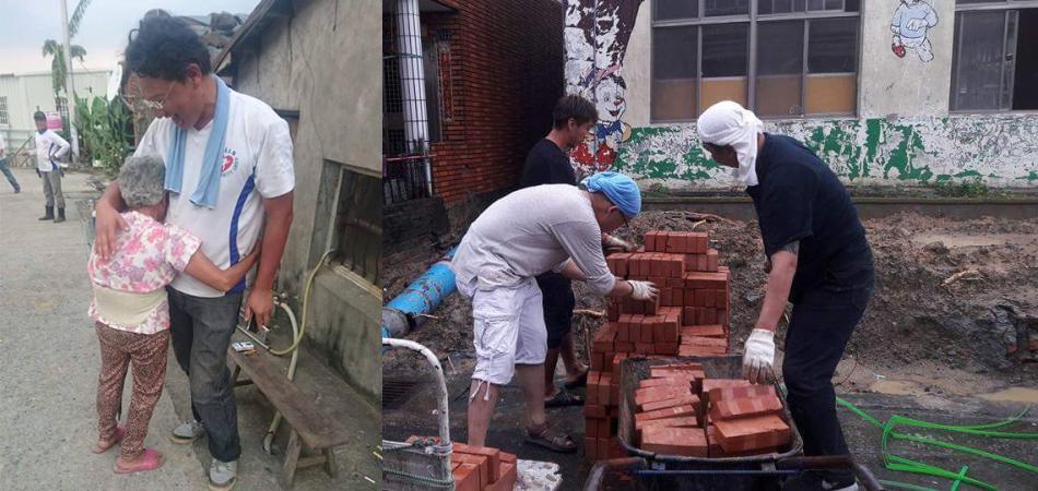 Grupo de voluntário reconstrói casa de idosa derrubada por furacão em um dia 1
