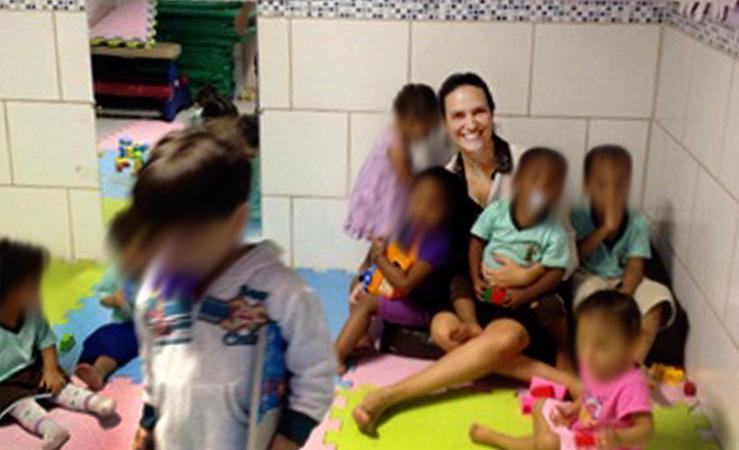 Morte de filho inspira mãe a reformar creche que atende crianças carentes 2