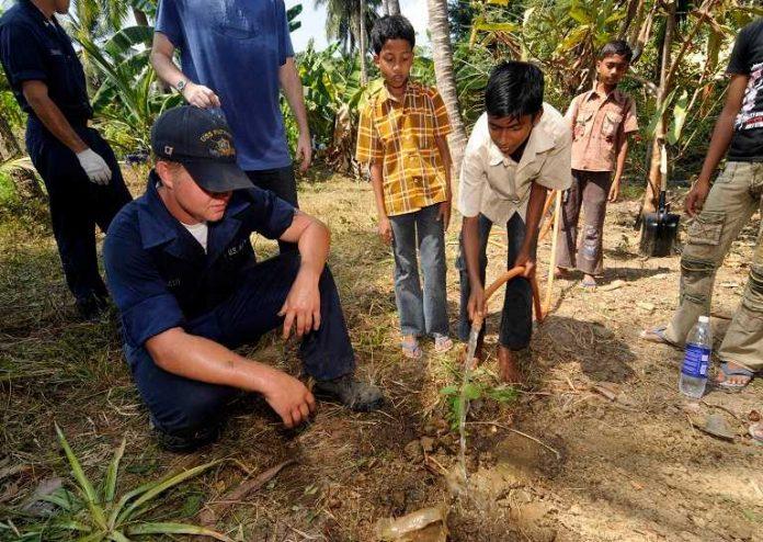 Índia planta 50 milhões de árvores em um único dia para diminuir emissões de carbono 1