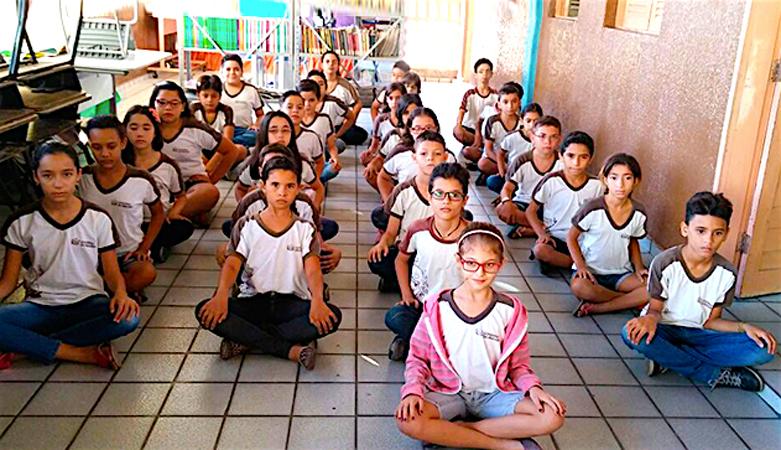 Aulas de meditação e equilíbrio emocional melhoram desempenho de alunos na Paraíba 1