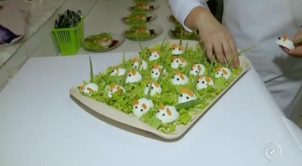 Merendeira prepara pratos criativos para crianças comerem melhor 2