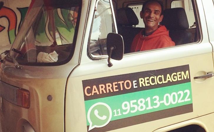 Morador de rua oferece serviço de carreto para reencontrar a família de cabeça erguida 1