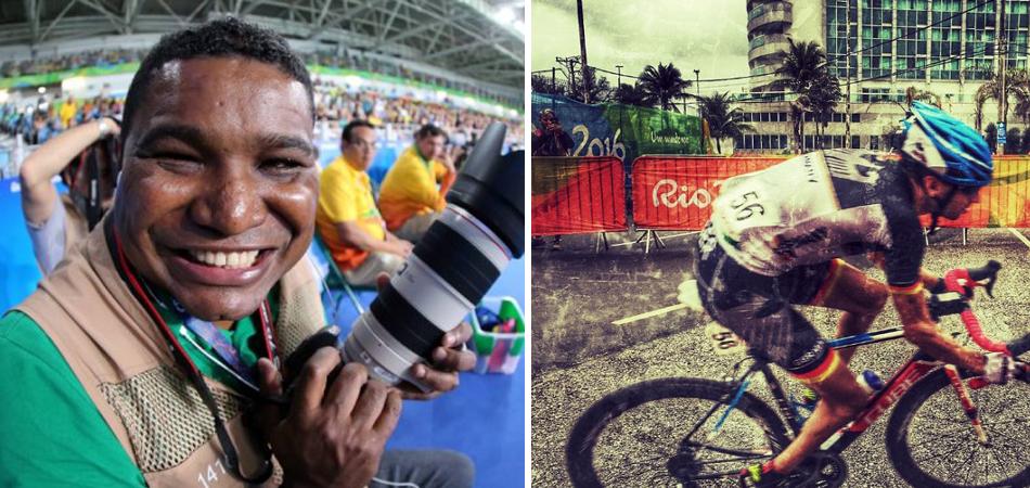 Além da deficiência: João Maia é cego e faz fotos incríveis dos Jogos Paralímpicos 3