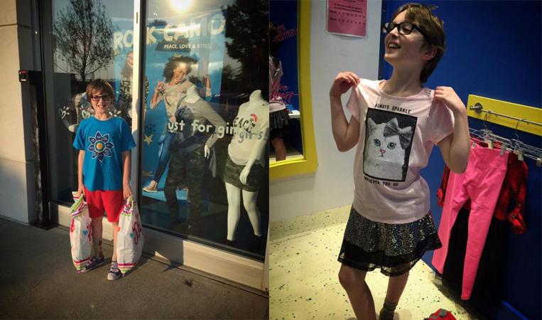 """Mãe escreve carta emocionante para loja que deixou seu filho vestir """"roupas para meninas"""" 1"""