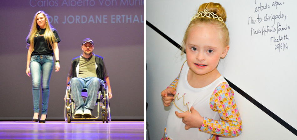 Estudantes realizam sonhos de pessoas com deficiência em Desfile de Moda Inclusiva 1