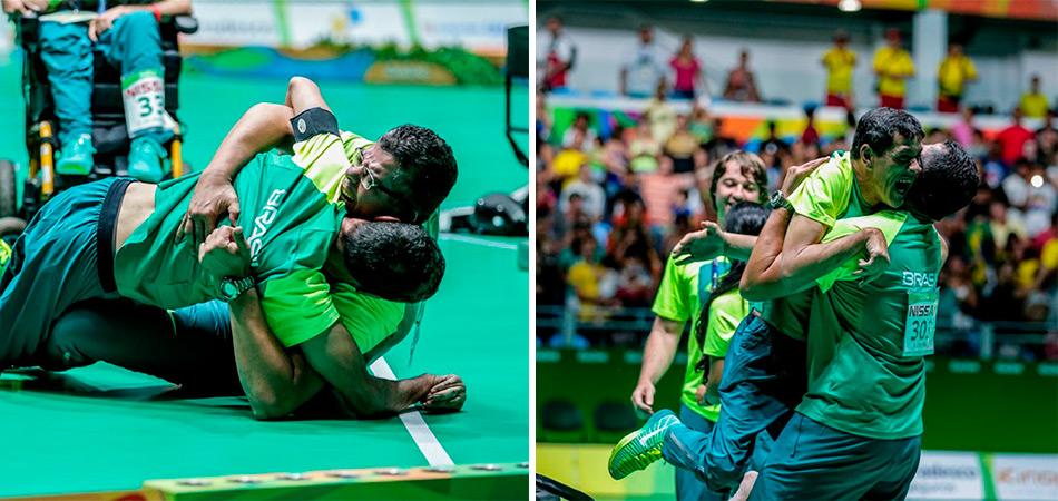 Contrariando médicos e com dor, Fernando Leme conquista Ouro ao lado do irmão nas Paralimpíadas 1