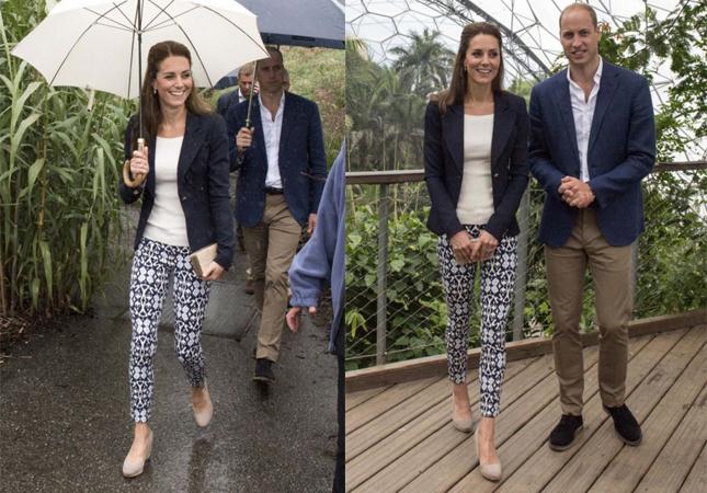 Kate Middleton usa calça de apenas 25 dólares em compromisso real 1