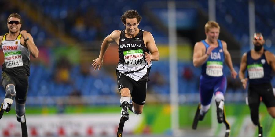 Atleta da Nova Zelândia ganha ouro com prótese financiada por torcedores 1
