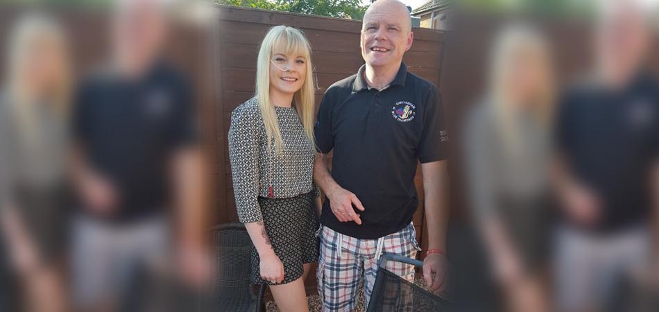 Pai corre maratona para custear tratamento da filha com paralisia intestinal 5