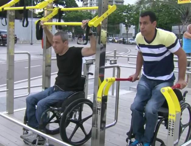 Prefeitura do Rio anuncia a criação de 10 academias adaptadas para cadeirantes ao ar livre 1