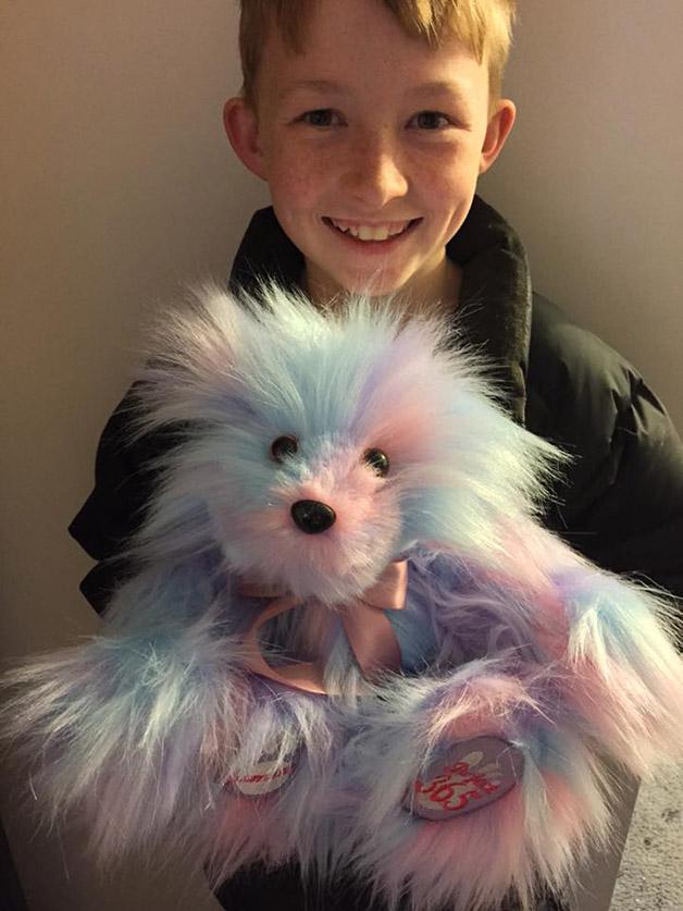 bichinhos de pelúcia costurados por menino 4