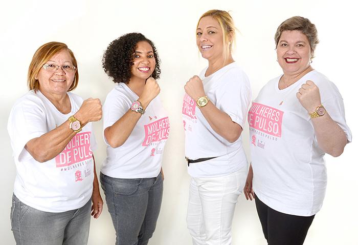 Da esquerda para direita: Ieda, Viviane, Flávia e Andreia.