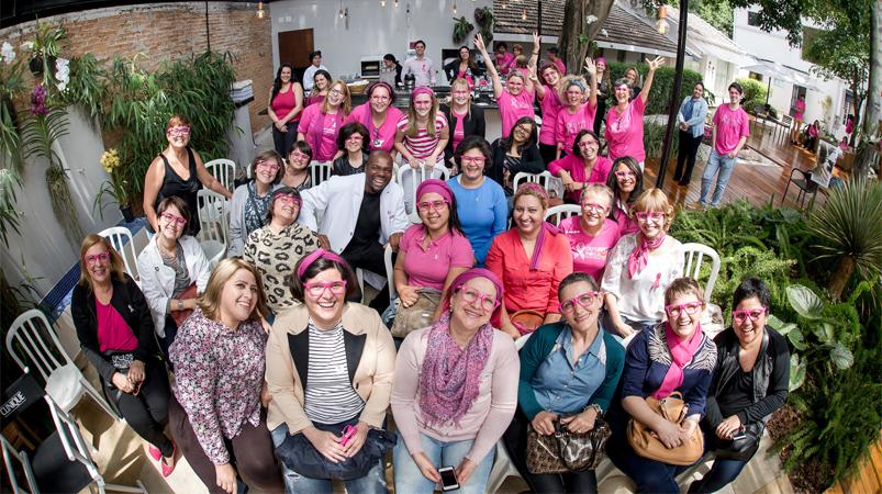 ONG promove mutirão de beleza para mulheres em tratamento contra o câncer de mama 1