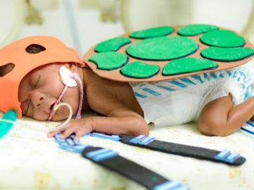 Hospital organiza sessão de fotos com bebês da UTI Neonatal e o resultado é comovente 5