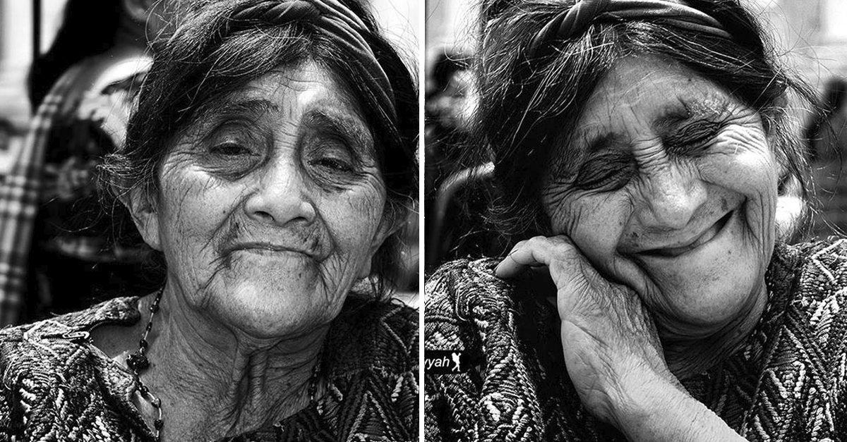 Fotógrafo capta o 'antes e o depois' de mulheres que foram chamadas de bonitas 3