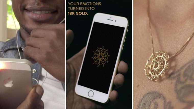 Esta startup transforma emoções de histórias de amor em joias - literalmente 1