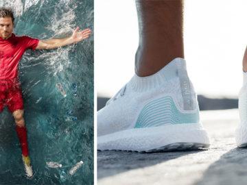 Adidas revela os primeiros produtos feitos com plástico retirado do oceano: tênis e camisas de futebol 2