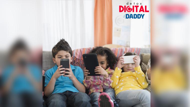 Campanha disponibiliza e-book gratuito para desintoxicação digital de crianças 1