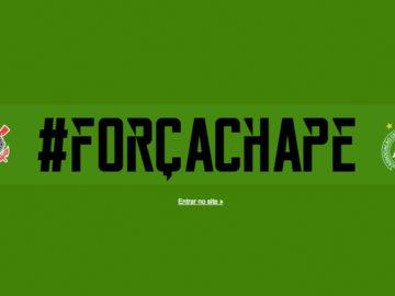 Corinthians deixa a tradição de lado e veste site de verde em homenagem à Chapecoense 4