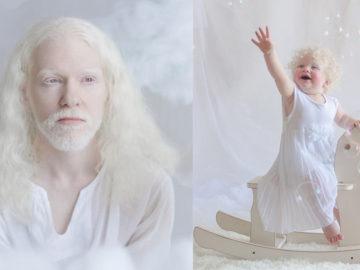 Fotógrafa Russa faz ensaio encantador com pessoas albinas 22