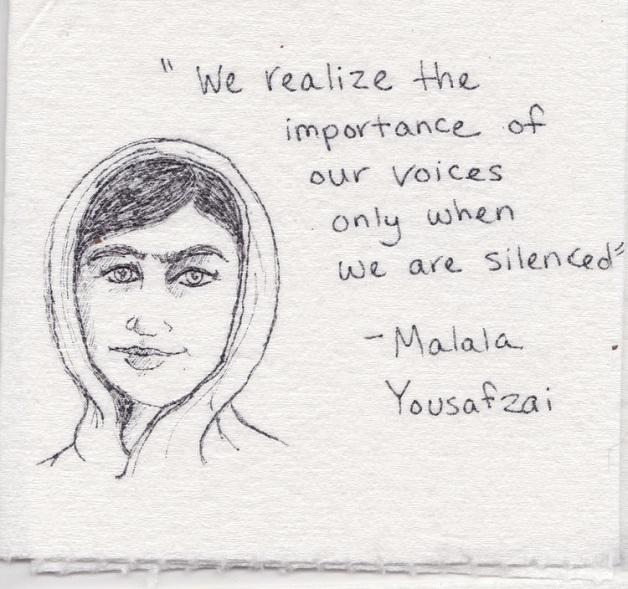 """""""Nós só percebemos a importância de nossas vozes quando somos silenciadas"""""""