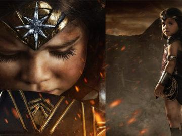 Fotógrafo transforma filha de 3 anos em Mulher-Maravilha em ensaio cheio de ação 2