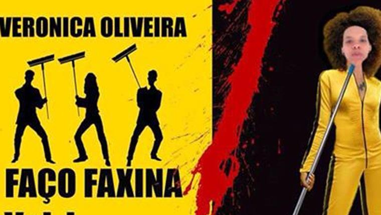Mulher cria anúncios inspirados em filmes para oferecer serviço de faxina 1